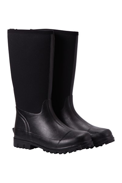 Mucker Womens Neoprene Long Boots - Black