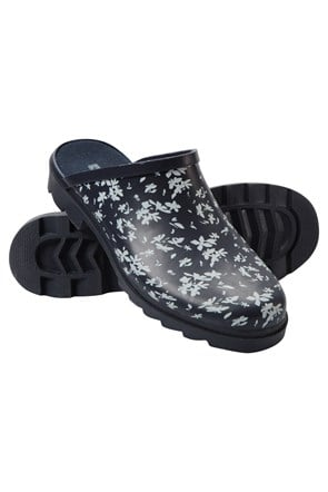Womens Printed Rubber Slippers