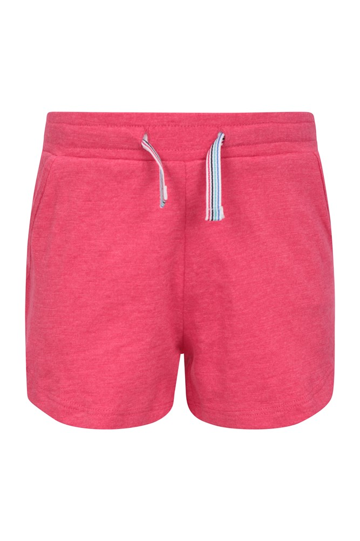 Laguna Kids Jersey Shorts - Pink
