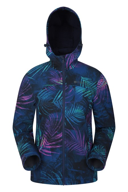 029984 EXODUS PRINTED  WOMENS SOFTSHELL