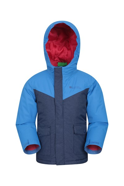 Hunter Waterproof Padded Kids Jacket - Blue