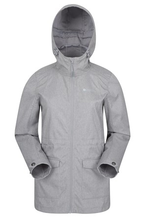 Pines Womens Long Softshell Jacket