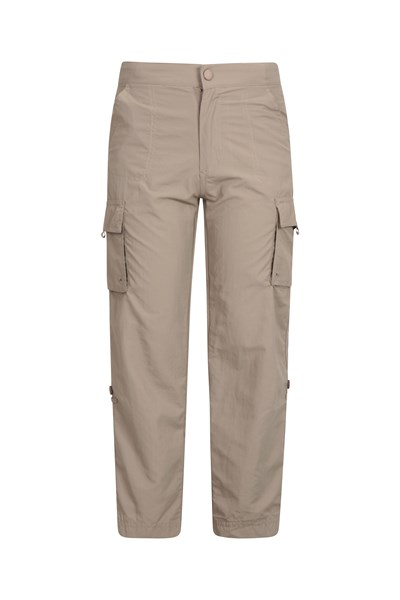 EC Roll-Up Kids Trousers - Beige