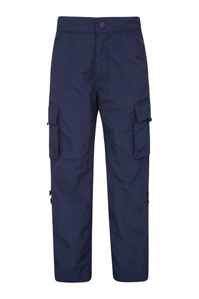 EC Roll-Up Kids Trousers - Navy