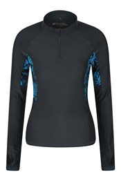 Womens Patterned UV Rash Vest