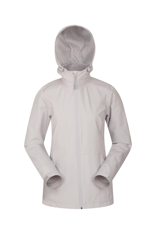 Gloucester Ultra Lightweight Womens Waterproof Jacket - Grey