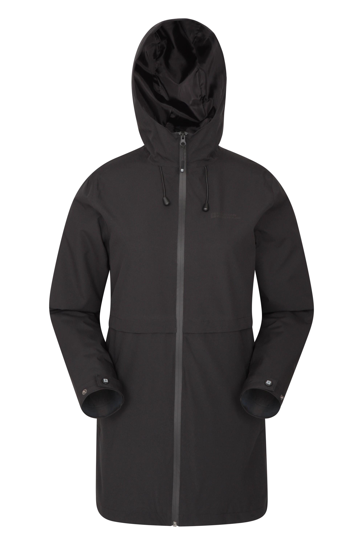Hilltop Womens Waterproof Jacket - Black