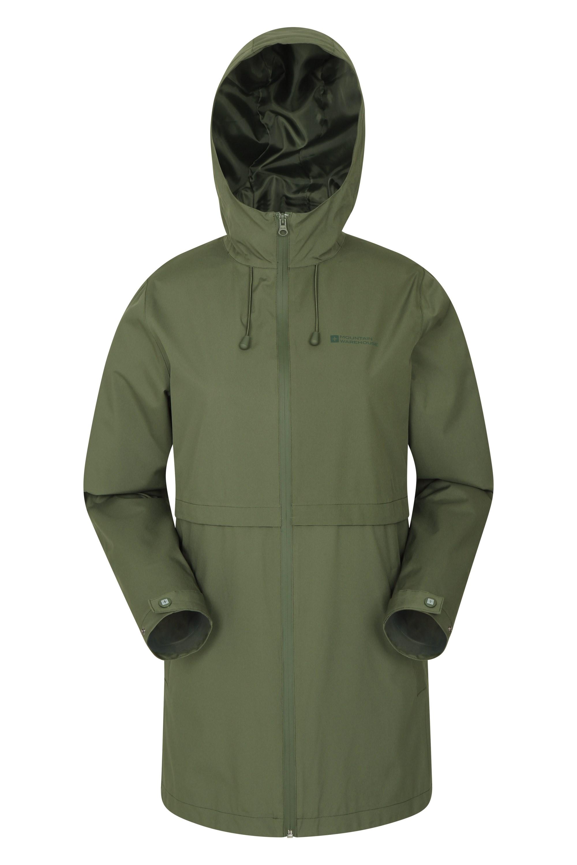 Hilltop Womens Waterproof Jacket - Green