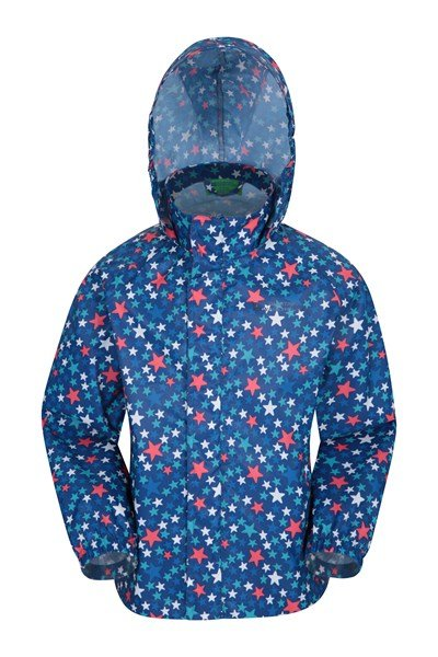 Comet Kids Waterproof Jacket - Blue