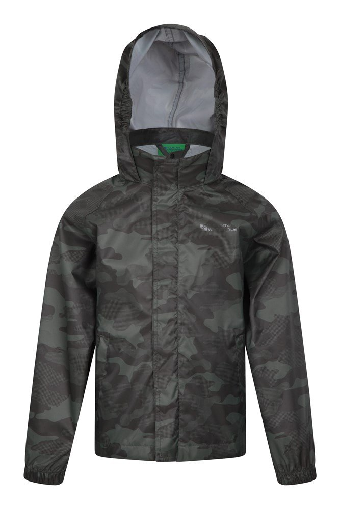 Comet Kids Waterproof Jacket - Green