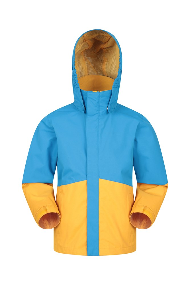 Asteroid Kids Waterproof Jacket - Blue