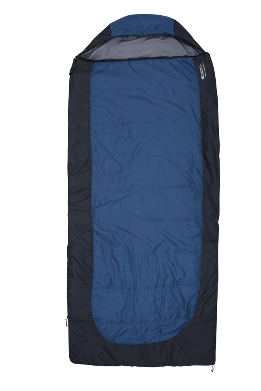 Microlite 500 Square Sleeping Bag - XL - Blue