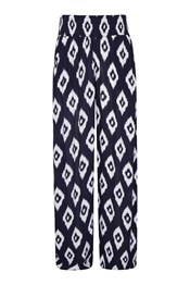 Womens Printed Beach Pants