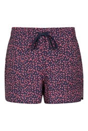 Patterned Womens Stretch Boardshorts - Short