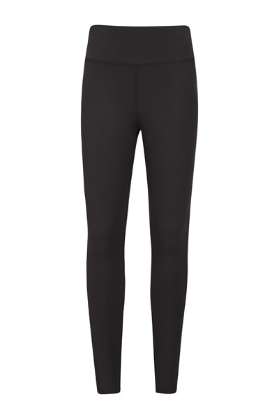 Blackout High Waisted Womens Leggings - Black