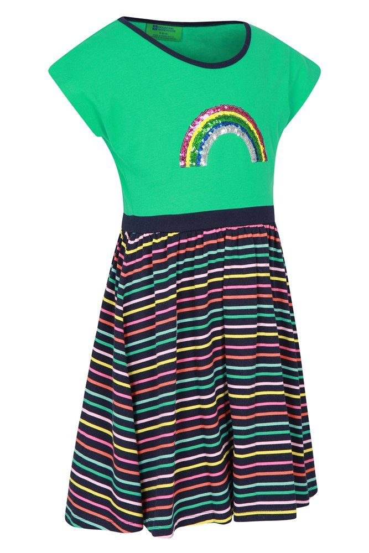 Mountain Warehouse Poppy Girl Dress Beach Lightweight Kids Spring Clothing
