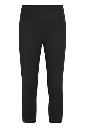 Blackout Womens Capri Leggings
