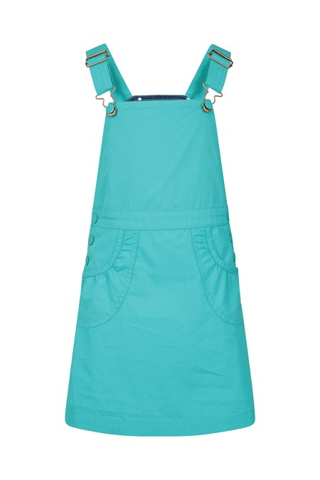 030052 DUNGAREE KIDS DRESS