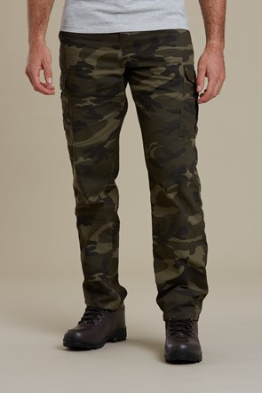 Lakeside Camo Mens Cargo Pants