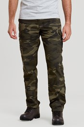 Lakeside Camo Mens Cargo Trousers