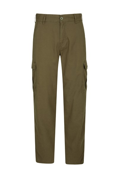 Lakeside Mens Cargo Trousers - Green