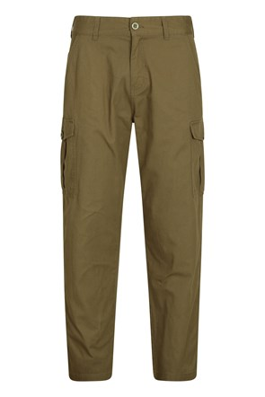 Lakeside Mens Cargo Trousers - Short Length