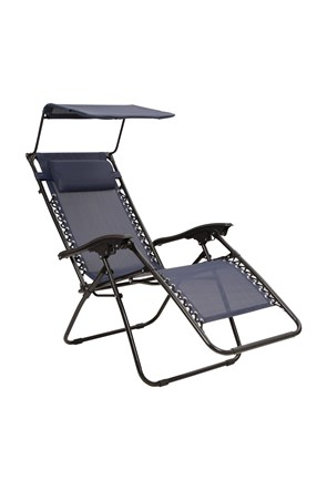 Chaise inclinable avec Pare-soleil