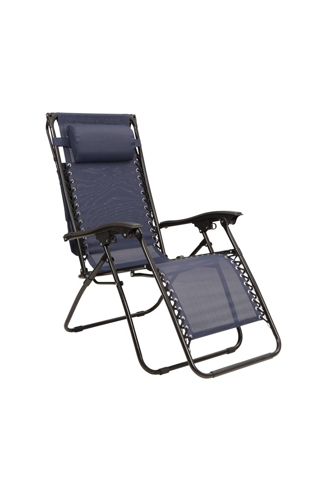Mountain Warehouse Reclining Chair with Sun Shade Sporting