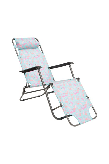 Astonishing Sunlounger Folding Chair Patterned Gmtry Best Dining Table And Chair Ideas Images Gmtryco