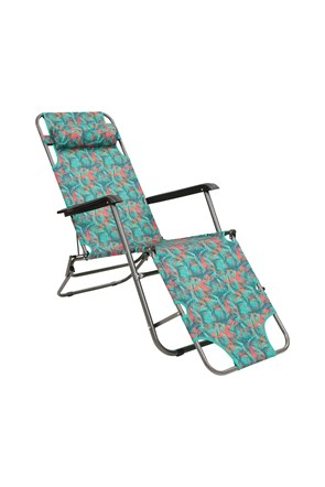 Sunlounger Folding Chair - Patterned