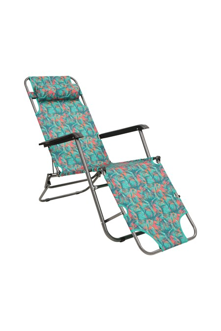 030063 SUNLOUNGER FOLDING CHAIR - PATTERNED