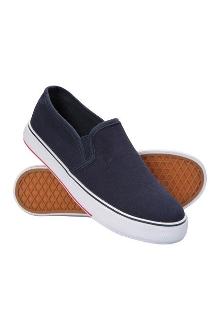 030072 CANVAS SLIP ON KIDS SHOE