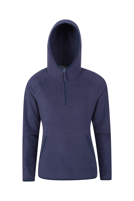Ladies Womans Fleece Top Warm Jacket Walking Zip UK Size