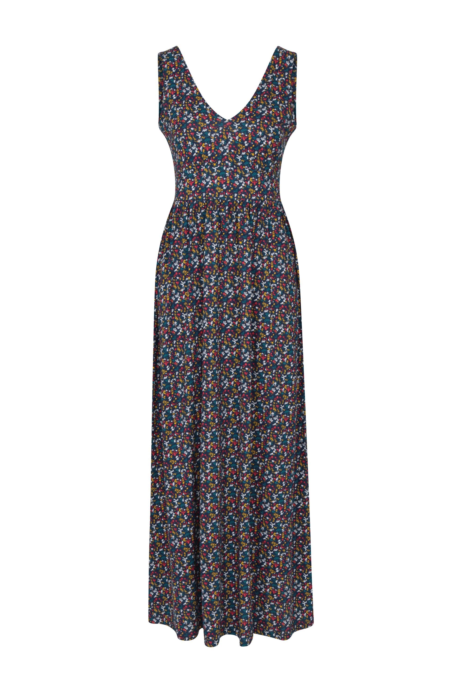 Venice Damen Maxi-Kleid mit UV-Schutz - Blau