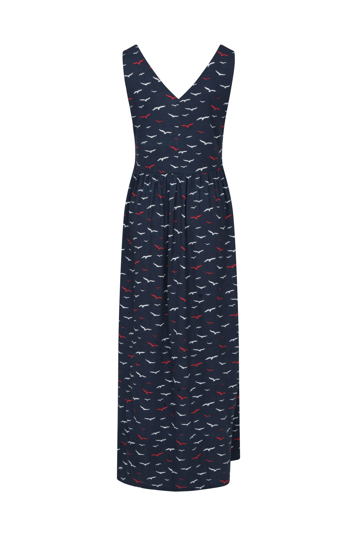 Venice Damen Maxi-Kleid mit UV-Schutz - Marineblau
