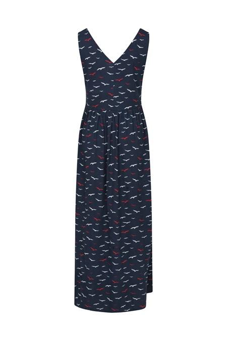 030093 VENICE SLEEVELESS WOMENS UV PROTECTIVE MAXI DRESS