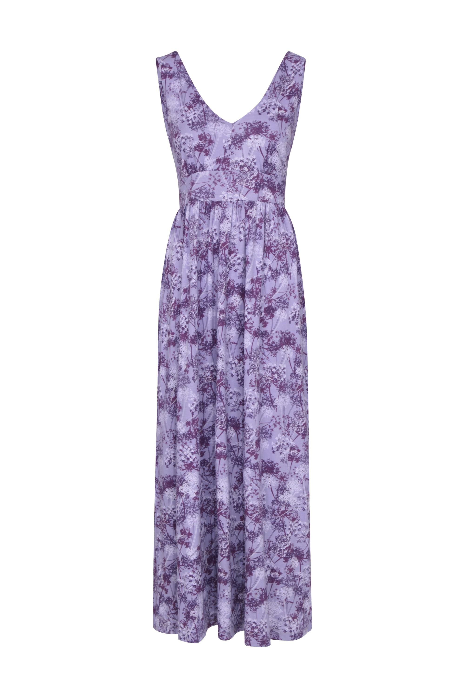 Venice - sukienka Maxi z ochroną UV - Purple
