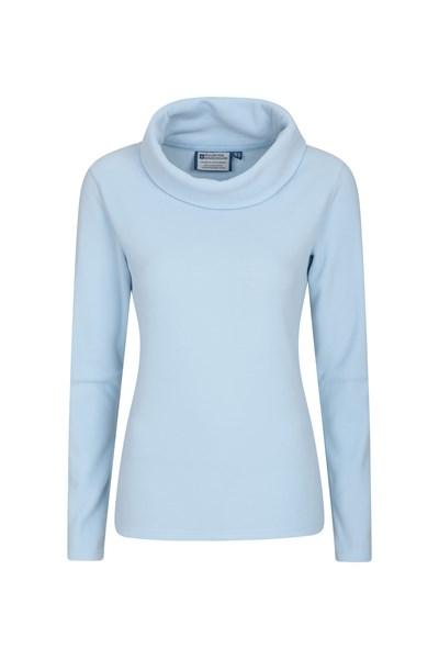 Camber Womens Cowl-Neck Fleece - Blue