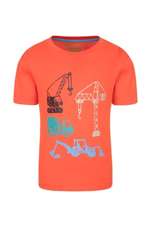 Construction Team Kids Tee