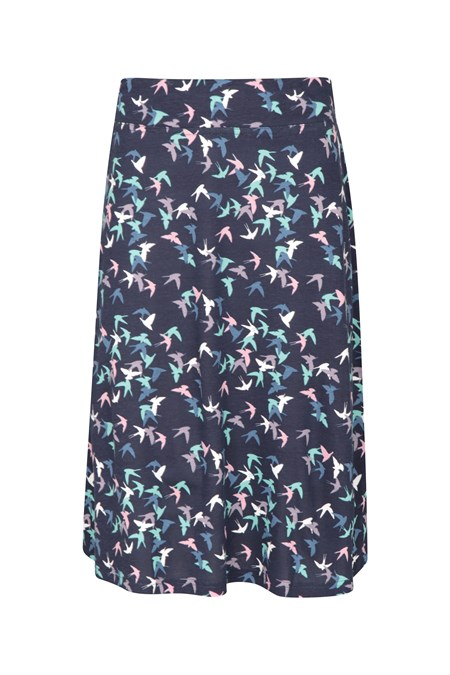 030120 WATERFRONT WOMENS JERSEY SKIRT