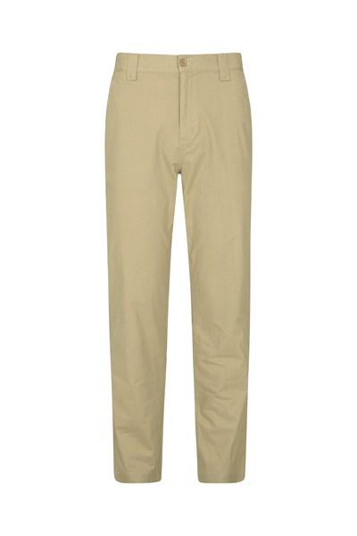 Mens Coastal Trousers - Beige