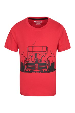 Race Car Kids Tee