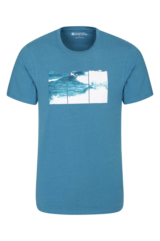 Mountain Warehouse Wipeout Herren T-Shirt blau | 05057634224840
