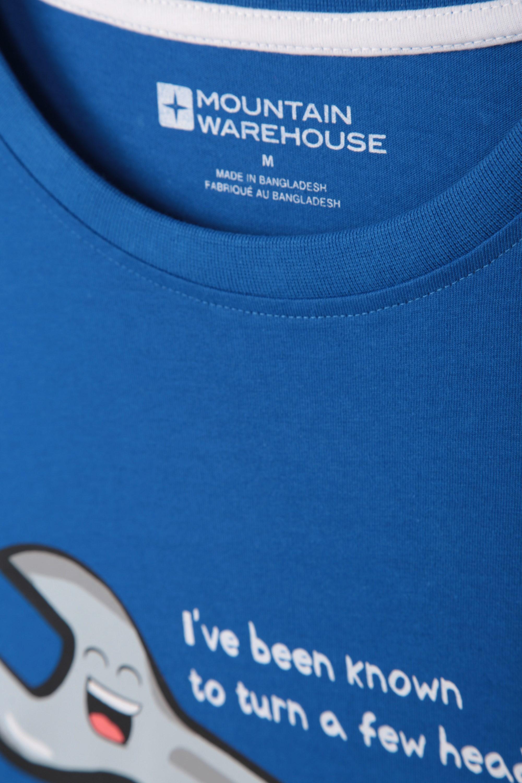 Mountain Warehouse Mens Turn A Few Heads Tee Tshirt