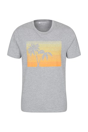 Tropical Palm Mens Tee