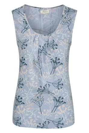 Orchid Printed Womens Tank Top