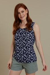 Orchid Printed Womens Vest Top