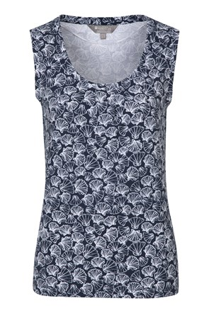 Orchid Printed Womens Vest
