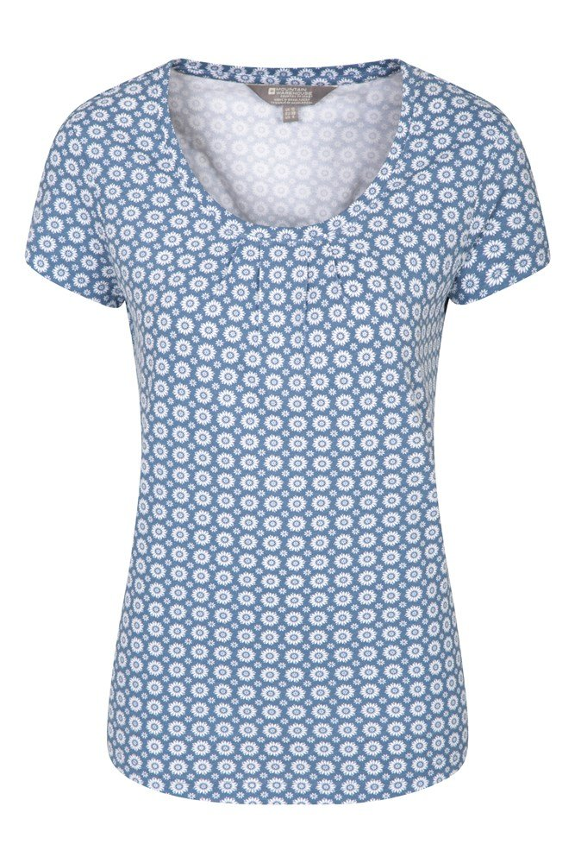Orchid Damen T-Shirt - Blau