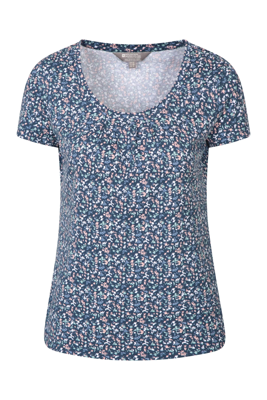 Orchid - koszulka damska - Navy